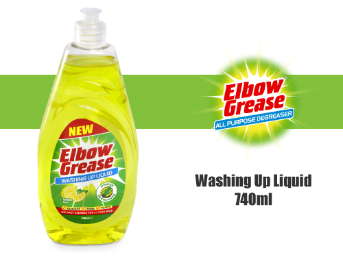 Elbow Grease Washing Up Liquid 740ml